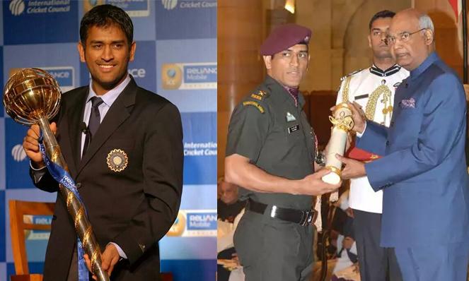 Dhoni Awards & Achievements