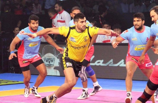Kabaddi is India's fastest growing sport