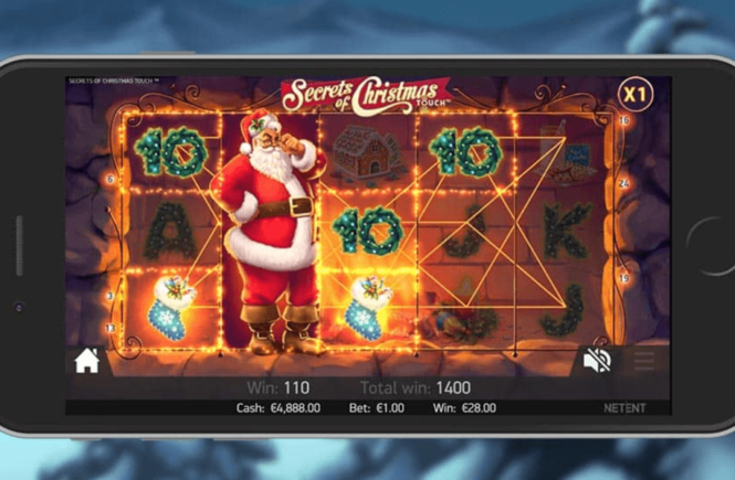 New Game for the Holidays—Secrets of Christmas by NetEnt. casino slots